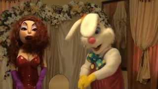 Шоу кукол на свадьбу,юбилей,корпоратив.Джессика Реббит и кролик Роджер