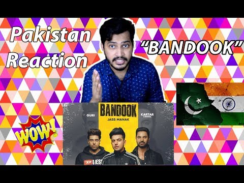 BANDOOK (Full Song) Jass Manak - Pakistan Reaction | Guri | Kartar Cheema | Sikander 2| Geet MP3