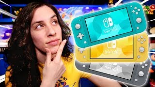 WHICH COLOR DID I GET?! Nintendo Switch Lite Unboxing! - JustJesss