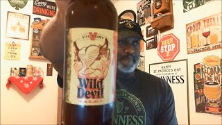 Video Beer Review #334 Drinking And Talking Wild Devil Victory Brewing 🍻
