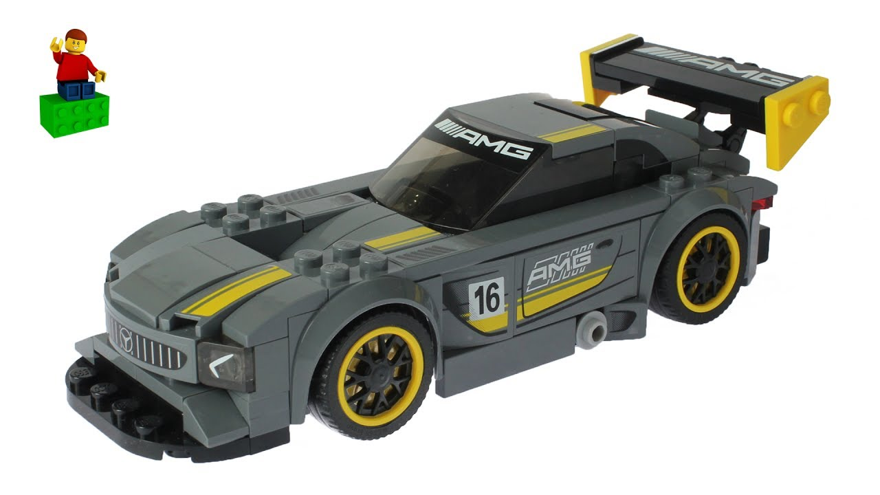 lego speed champions 75877 mercedes amg gt3 lego speed. Black Bedroom Furniture Sets. Home Design Ideas