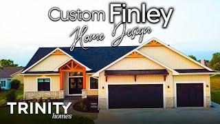 Custom Finley Home Design - Trinity Home Builders