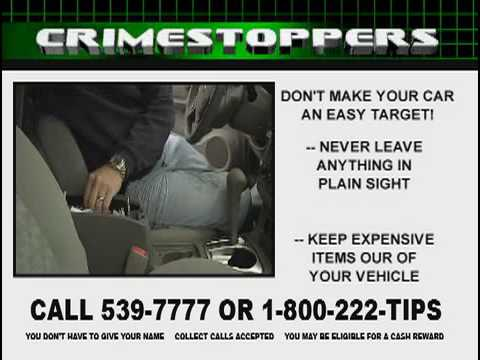 Crime Stoppers Vehicle Safety - Manhattan, KS