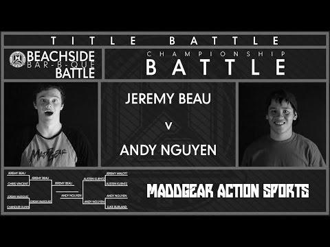Beachside Bar-B-Que Battle | Andy Nguyen v Jeremy Beau