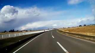 雪雲を追う - ドライブレコーダー映像