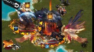 Clash of kings : kvk 1209 vs 1838 / special kvk - fight to last minute
