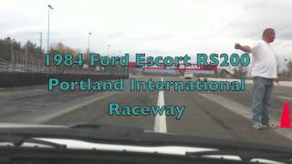 Group B Ford Escort Rs200 @ Portland International Raceway