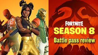 SEASON 8 BATTLE PASS REACTION LOOKIN FOR THE ONE PIECE? #Fortnitebattleroyale #Fortnite