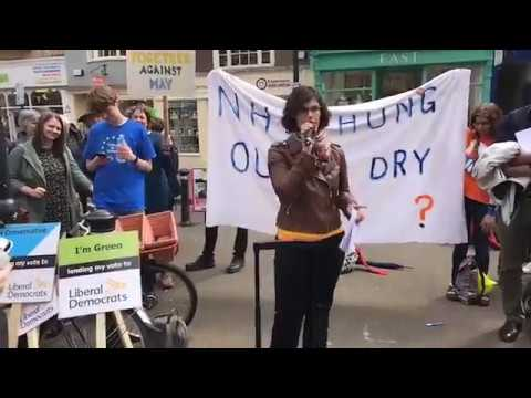 Stop the Tory Landslide - Layla Moran at the Oxford Progressive Alliance