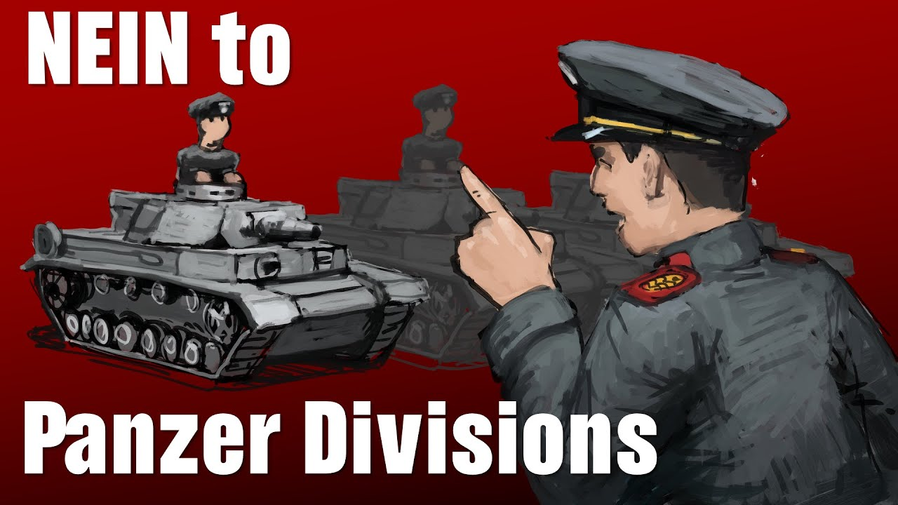 1937: German argues against Panzer Divisions