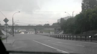 Боровское шоссе затопило намертво 15.07.2013(Всё встало..., 2013-07-15T14:34:29.000Z)