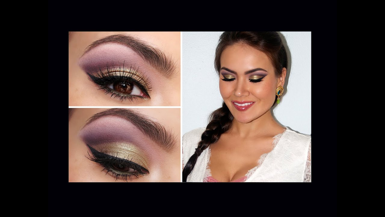 Spring Fling Romantic Eye Makeup Youtube