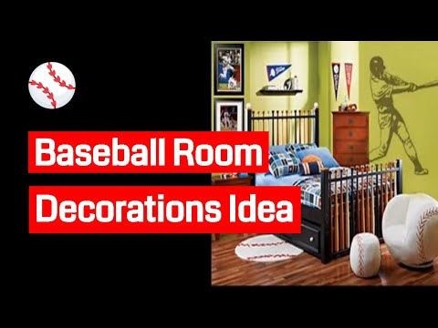 DIY Baseball Room Decorations