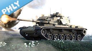 EXPLOSIVE SAMURAI ARMOUR - M60 Rise ERA (War Thunder Tanks Gameplay)