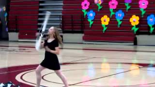 Color Guard solo to A Thousand Years by Christina perri