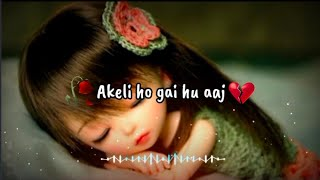 🥀Dua Karungi Ke Tumhe Bhi Koi Tumare Jaisa Mile😭Sad Whatsapp Status🥺Mood Off Status😒Sad Girl Shayari