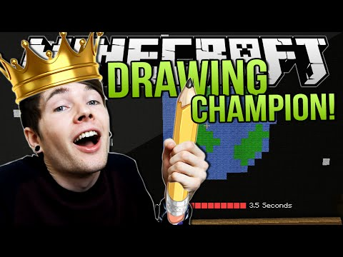 DRAWING CHAMPION | Minecraft: Draw My Thing Minigame!