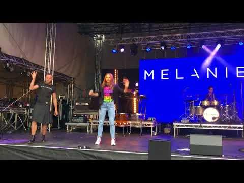 Melanie C  Anymore @ Pride Glasgow 2018
