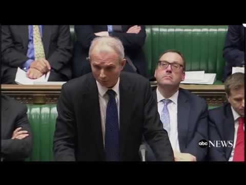 The Moment UK Parliament Learned Of Apparent Terrorist Attack (Mar 22, 2017)