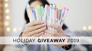 2019 Holiday Stationery Giveaway