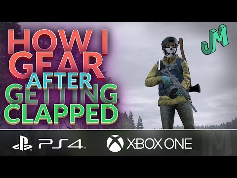 How I Gear After Getting Clapped 🎒 DayZ Livonia Official 🎮 PS4 Xbox