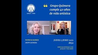 ENT Patricia Rameix GRUPO QUIMERA CUMPLE 40 AÑOS DE VIDA ARTÍSTICA