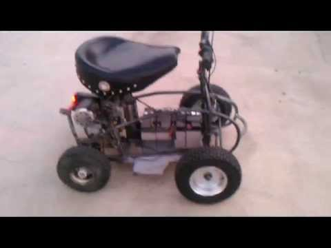 bar stool racer NO garage seat cruiseravi  YouTube