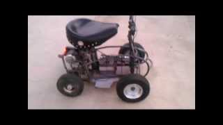 Bar Stool Racer No Garage Seat Cruiser.avi