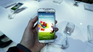 Samsung Galaxy S4 Hands On Demo! (with Galaxy S3 Comparison)