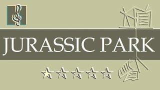 Video Sheet Music Jurassic Park Theme Guitar Chords