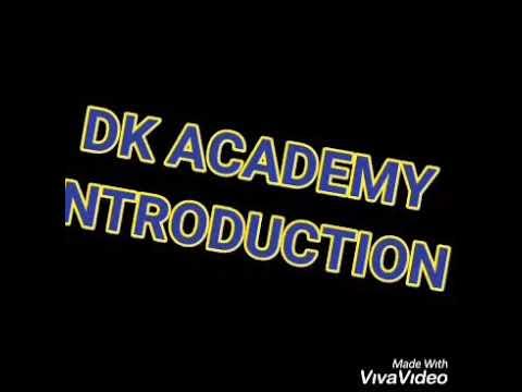 DK ACADEMY INTRODUCTION
