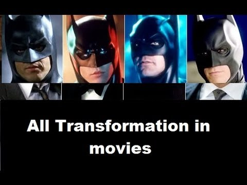 Batman- Transformation in movies,