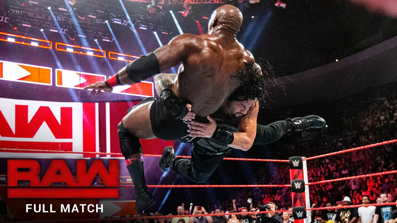 Download FULL MATCH - Roman Reigns vs. Bobby Lashley: Raw, July 23, 2018