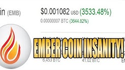 The Insanity Of Cryptocurrency 3000% Gains - EmberCoin climb to moon