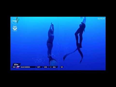 Olga Markina NR CWT 82m CMAS WC-2019