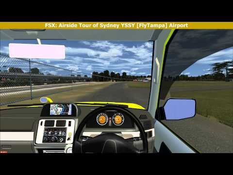 FSX: Airside Tour of Sydney YSSY (FlyTampa) Airport