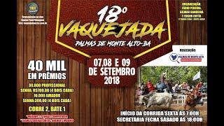 VAQUEJADA PALMAS DE MONTE ALTO BAH A