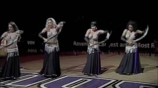 Bellydance Soulfire | NBA Half-Time Show