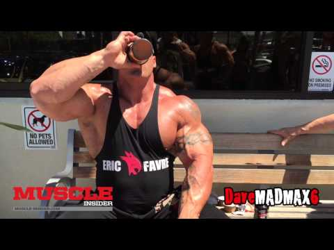 Morgan Aste trains arms in the Mecca