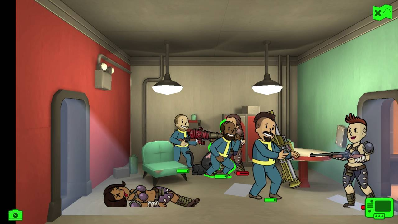 NACKT REIN, ANGEZOGEN RAUS - Lets Play Fallout Shelter