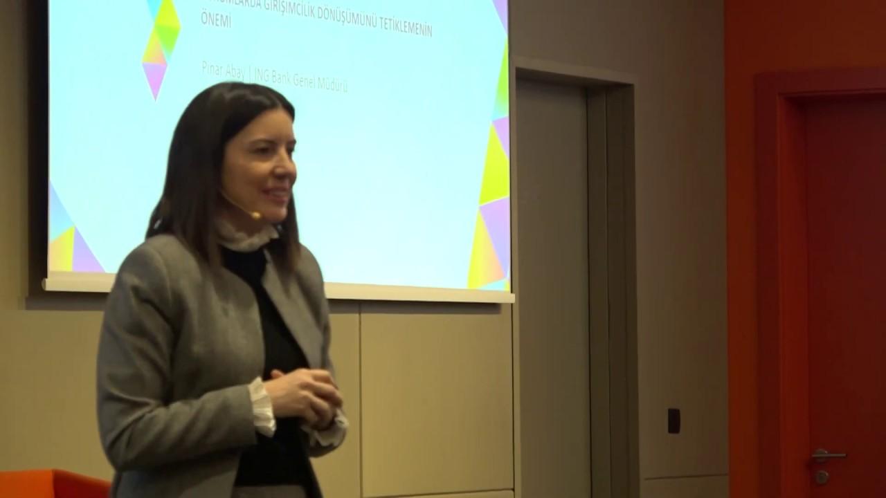 Kurumlarda Girişimcilik Dönüşümünü Tetiklemenin Önemi (2019 Girişimcilik Kampı)