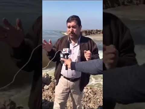 بالفيديو : الوقائع على الأرض تكذب ادعاء وزارة الموارد المائية بأن لا صحة لإنهيار سدود هور الحويزة ..
