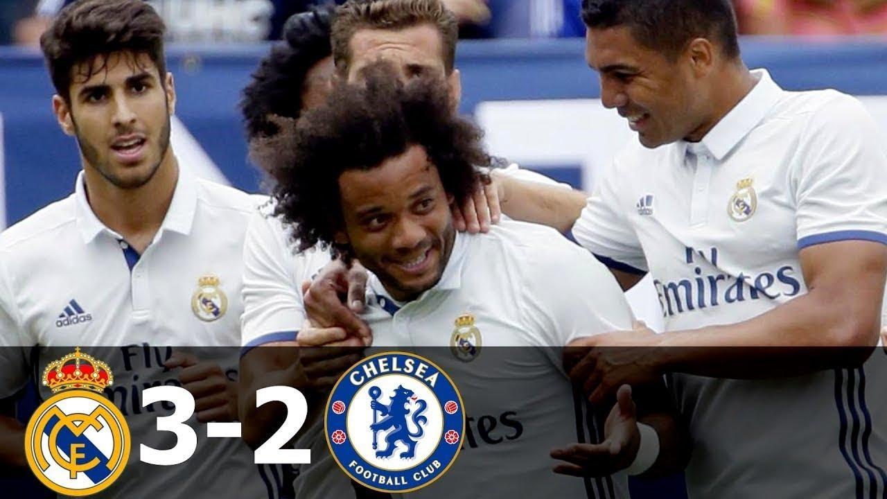Международный кубок чемпионов: Реал Мадрид — Челси