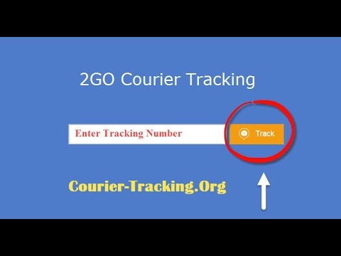 2GO Tracking | 2GO Courier Tracking Guide