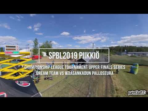 Dream Team vs Waasankadun Palloseura - SPBL2019 Piikkiö