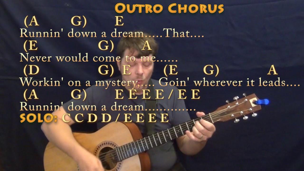running down a dream lyrics and chords pdf