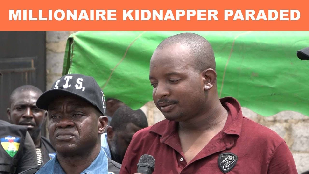 Download Multi-Millionaire Kidnapper Arrested with 37 Other Suspected Criminals