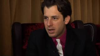 Mark Ronson: 'Lady Gaga inspired me to sing' Video