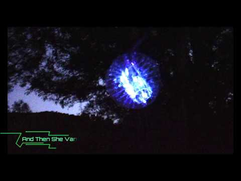 Real UFO Girl Alien Abduction Caught On HD Camera Or Was It Time Travel Orb Sphere Space Ship?