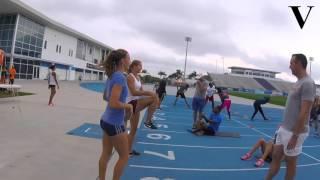 Zo traint Dafne Schippers voor Rio